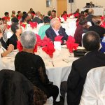Some members of the audience at the event of the Fifty-Five Plus Club. Photo by Harold Chitan.