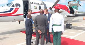 Britain's Prince Harry Visits Guyana On Final Leg Of Caribbean Tour