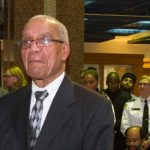 Larry McLarty seen at a Black History Month event at police headquarters, in 2014. Photo courtesy of Toronto Police Service.