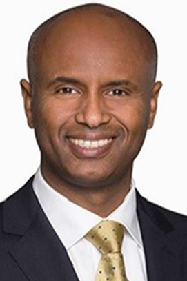 Ahmed Hussen, The new Immigration, Refugees and Citizenship minister is fluent in English, Somali, and Swahili.
