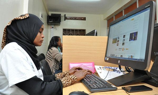 A UN supported Biashara center.Photo credit: @undpkenya.