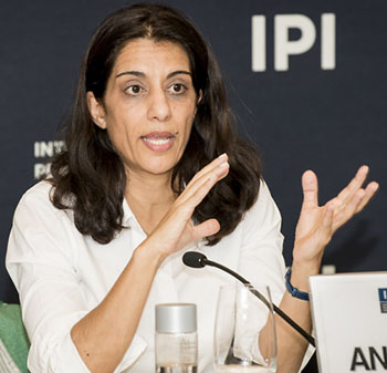 Sanam Naraghi-Anderlini is co-founder and Executive Director of International Civil Society Action Network (ICAN). Photo credit: ICAN.