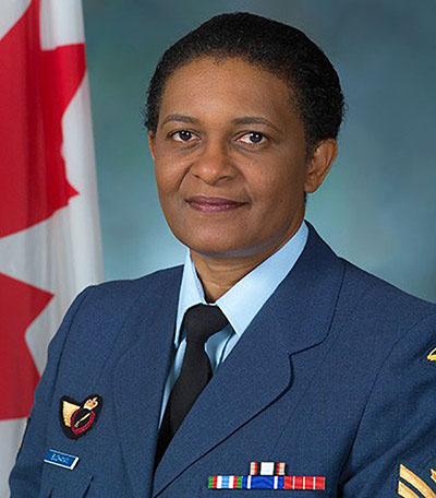 Sergeant Joan Buchanan, pictured in 2004, retired from the Canadian Armed Forces in 2014 and now works as a civilian in personnel development at National Defence Headquarters in Ottawa. Photo credit: ©2004 DND/MDN Canada.