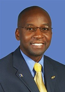Barbados Culture Minister, Stephen Lashley.