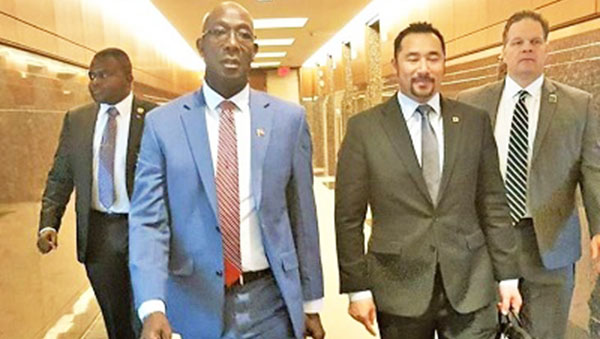 Trinidad PM, Dr. Keith Rowley, Wraps Up Visit To United States