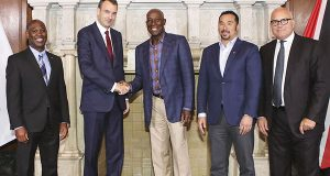 Trinidad And Tobago Prime Minister Meets With Oil Executives In Texas