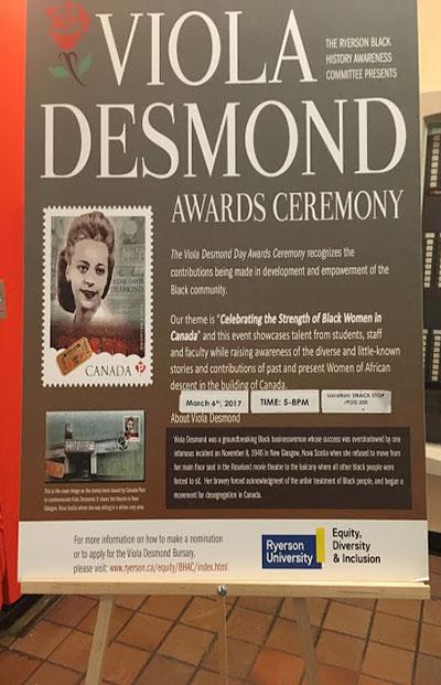 Viola Desmond poster