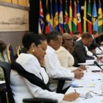Delegates at the CARICOM-Cuba ministerial meeting, held in Cuba, last Saturday. Photo credit: CMC.