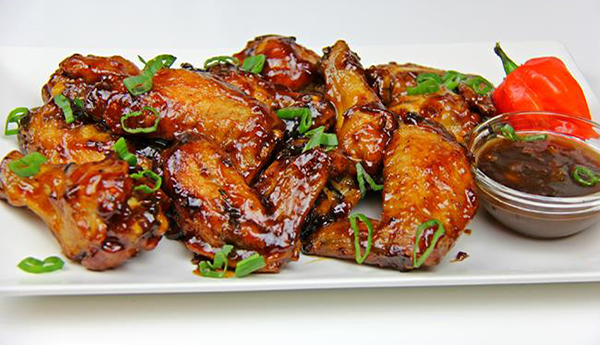 Tamarind Glazed Chicken Wings