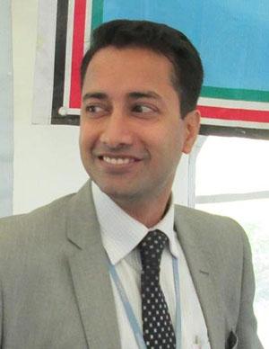 Animesh Kumar, Deputy Head of Office, UNISDR Regional Office for Africa.