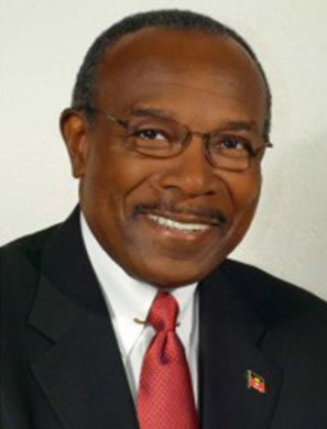 Antigua and Barbuda Environment Minister, Molwyn Joseph.