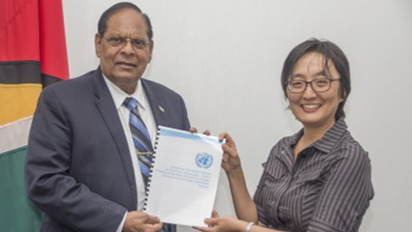 Guyana Government Receives Constitutional Reform Report From UN