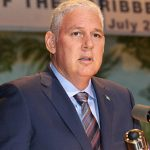 St. Lucia's Prime Minister, Allan Chastanet. Photo courtesy of CARICOM.