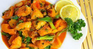 Caribbean Fish Stew Using Fresh Cod