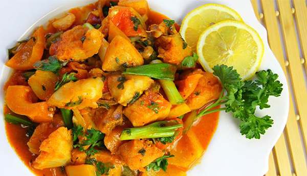 Caribbean Fish Stew Using Fresh Cod