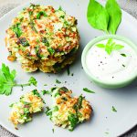 Gluten-Free Honey Dijon Vegetable Fritters