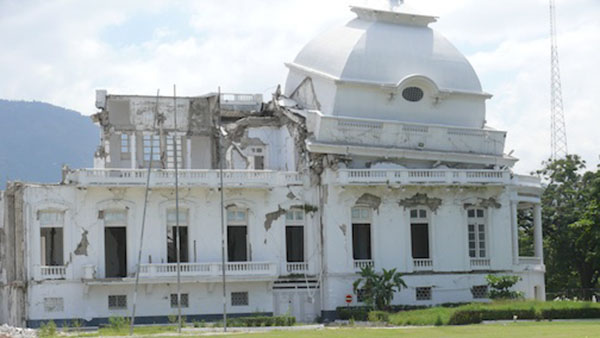 Haiti Government To Rebuild National Palace