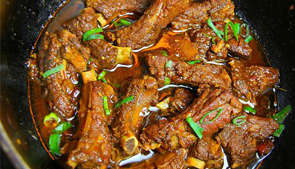 Caribbean Stewed Pork Ribs