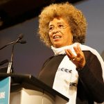Angela Davis speaking at the Human Rights Forum of the Canadian Labour Congress 28th Constitutional Convention at the Metro Toronto Convention Centre on May 7, 2017. Photo contributed.