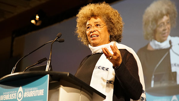 American Activist Angela Davis Says Movements Can Make A Major Difference