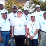 Members of the CARICOM Electoral Observer mission to The Bahamas.