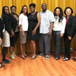 The new JCA Board and Committee Chairs (From L to R): Ricardo Duncan, Membership Chair; Gavene Gordon, Fundraising Director; Natalee Johnson, Director at Large; Taborah Campbell, Executive Secretary; Adaoma Patterson, President; Claudette Cameron-Stewart, Communications Director; Rudolph Gibbs, Building Chair; Renea Douglas, Vice President; Michelle McKenzie-Dolly, Director at Large; Yolande Davidson, Director at Large; and Glenroy Williams, Treasurer.
