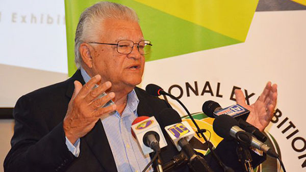 Agriculture Minister, Karl Samuda. Photo credit: JIS.