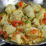 Yam With Stewed Saltfish