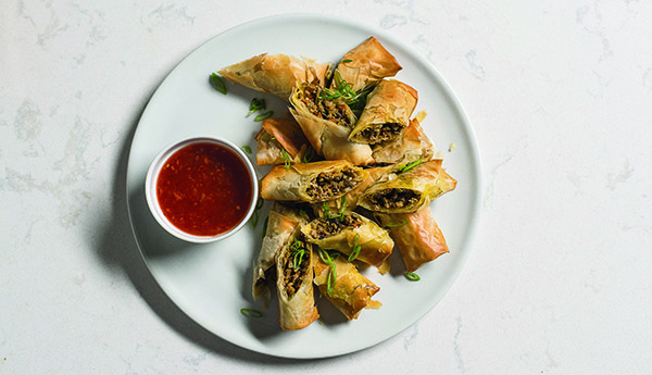 how to make thai spring rolls