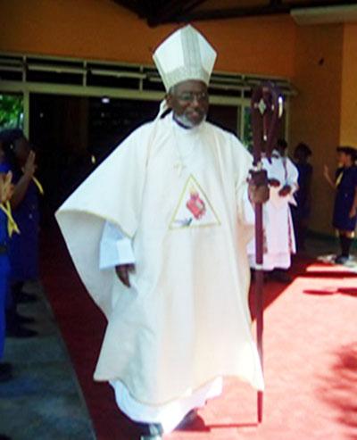 Bishop Clive Harvey. Photo credit: Caribbean Media Corp.