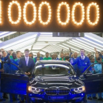 BMW South Africa announces the production of its one-millionth BMW 3 Series sedan at its manufacturing plant in Rosslyn, Pretoria, in South Africa. Photo credit: BMW Group.