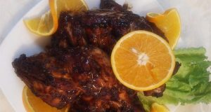 Barbequed Sweet and Sour Chicken
