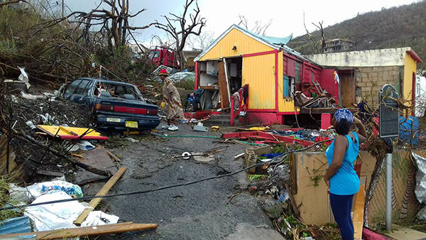 Hurricane Irma Ravages British Virgin Islands