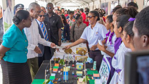 Investment In Guyana's Education Sector Money Well Spent, Says President Granger At National Education Rally