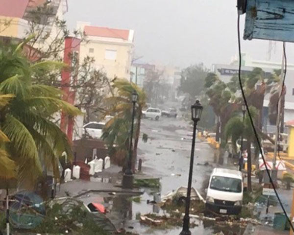 Hurricane Irma blasts through the Caribbean, leaving a trail of devastation and destruction in her wake.