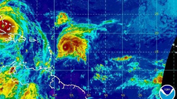 Hurricane Jose Remains Powerful Storm Heading Towards The Leeward Islands
