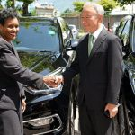 Korea Donates Three SUVs To Jamaican Government