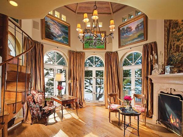 Nixon -- living room
