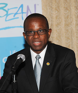 Caribbean Tourism Organisation Secretary General, Hugh Riley. Photo courtesy of CARICOM.
