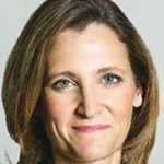 Canada's Foreign Affairs Minister, Chrystia Freeland.