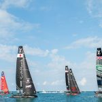 Six teams competed in the 35th. America's Cup regatta in Bermuda, with Emirates Team New Zealand thrashing defender Oracle Team USA 7-1 in the final. Photo credit: Bermuda Tourism Authority/Go to Bermuda.