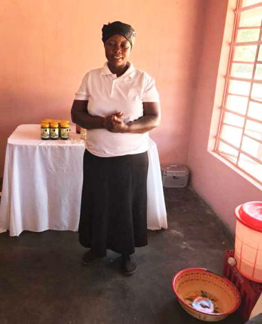 Judith Ncube's cooperative wants to expand its small marula processing business into a large manufacturing plant. Photo credit: Sally Nyakanyanga.
