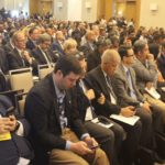 Delegates attending the inaugural petroleum exposition and summit in Guyana.
