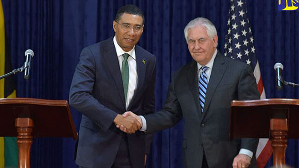 Jamaica And United States Call For Restoration Of Democracy In Venezuela
