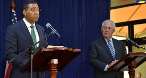 """Jamaica Prime Minister Holds """"Frank Candid Dialogue"""" With US Secretary Of State"""