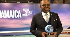 Jamaican Named Tourism Minister Of The Year Worldwide