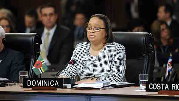Dominica's alternate representative to the Organization of American States (OAS), Judith-Anne Rolle. Photo credit: OAS.