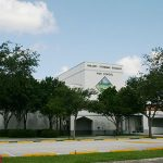 The front side of Marjory Stoneman Douglas High School, located in Parkland, Florida. Photo credit: Public domain.