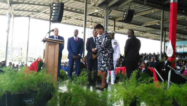 Retired Jurist Sworn In As Trinidad And Tobago's First Female Head Of State