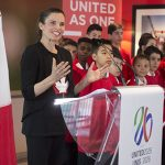 "Kirsty Duncan, Minister of Science and Minister of Sport and Persons with Disabilities, announced, on Tuesday, makes the announcement, noting ""What better place to host the 2026 FIFA World Cup™ than in our multicultural cities, where every team is a home team."""